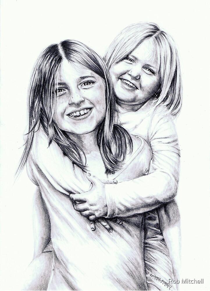 Jes`s kids by Rob Mitchell