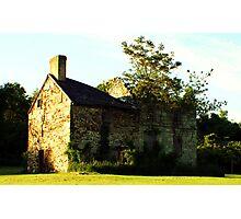 Charming Home - Needs TLC Photographic Print