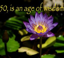 50 Is an Age of Wisdom by Peri