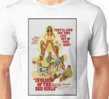 Invasion Of The Bee Girls (Green) Unisex T-Shirt