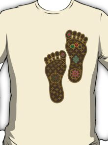 Footprints of the Buddha T-Shirt