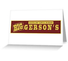 BIGGERSON's Greeting Card