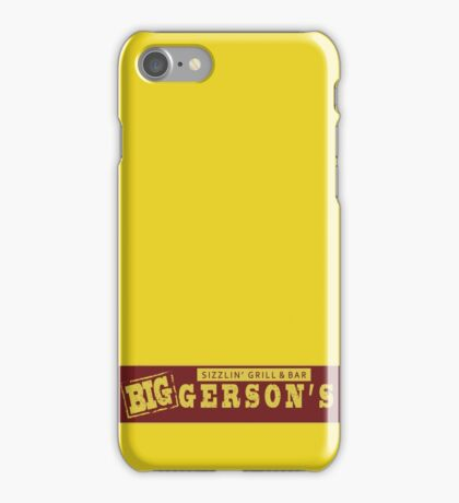 BIGGERSON's iPhone Case/Skin