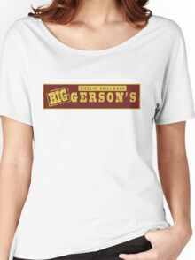 BIGGERSON's Women's Relaxed Fit T-Shirt