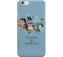 Legend of Squirtle pokemon iPhone Case/Skin