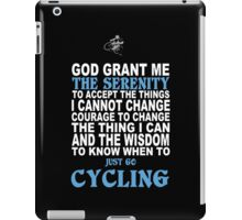 Cycling Funny Tshirts iPad Case/Skin