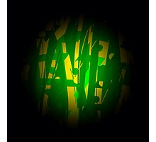 Green planet abstract Photographic Print