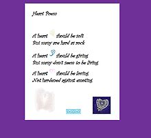 Heart Poem by KazM
