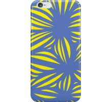 Corbet Abstract Expression Yellow Blue iPhone Case/Skin