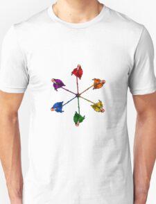 Flamingo Pride Lollipops Unisex T-Shirt
