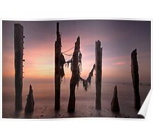 Dawn At The Spurn Poster