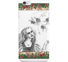 Beauty and the rose iPhone Case/Skin