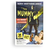The Mummy (Red) Canvas Print