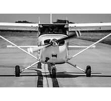 Cessna 172 on Taxiway Photographic Print