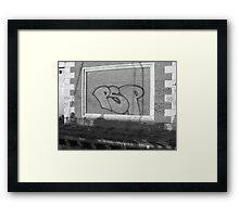 Graffiti III Framed Print