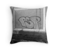 Graffiti III Throw Pillow