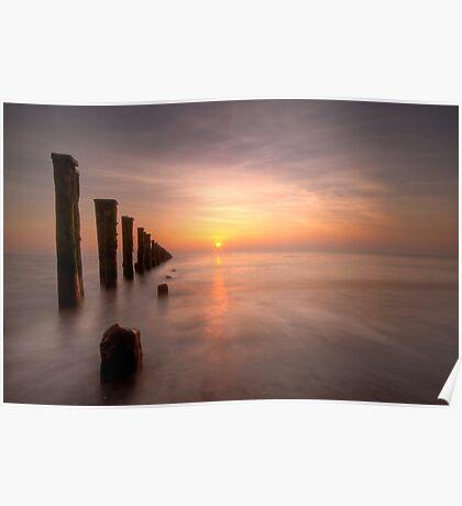 East Coast Sunrise Poster