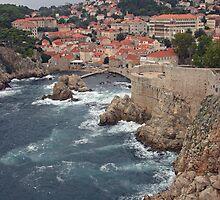 Bokar Fortress, Dubrovnik, Croatia by Christopher Barton