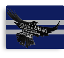 Ravenclaw - Harry Potter (varrying texts) Canvas Print
