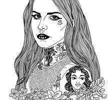 Lana Banana #4 by hellviticus