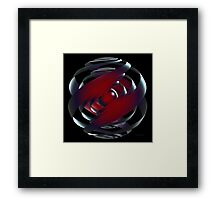 'As the Bubble Turns 3' Framed Print