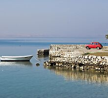 small red car, Starigrad Paklenica , Croatia by Christopher Barton