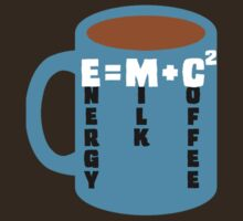 Energy = Milk + Coffee by ezcreative