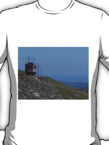Mountain Side Snaefell, Isle of Man T-Shirt