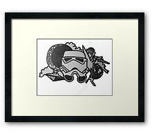 Star Wars Cluster Framed Print