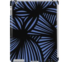 Churchill Abstract Expression Blue Black iPad Case/Skin
