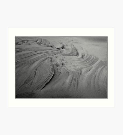 Sandy Lines Art Print