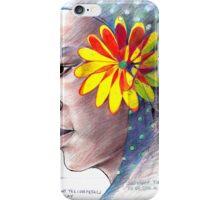 24 Bright Yellow Petals iPhone Case/Skin