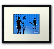iQuest Framed Print