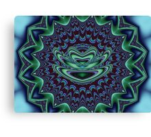 Zazen on Plum Mat  Canvas Print