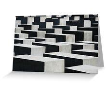 Holocaust Monument Berlin Greeting Card