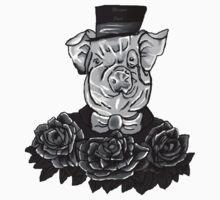 Greyscale Sir Tattoo - Digital Art by Tumi, Art by Brian Fusaro by MorganJoyce