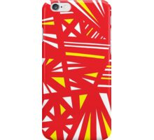 Vetter Abstract Expression Yellow Red iPhone Case/Skin