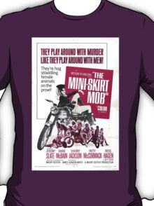 The Mini Skirt Mob (Purple) T-Shirt