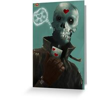 Jack of Hearts Greeting Card