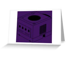 Game Cube Greeting Card