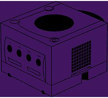 Game Cube Photographic Print