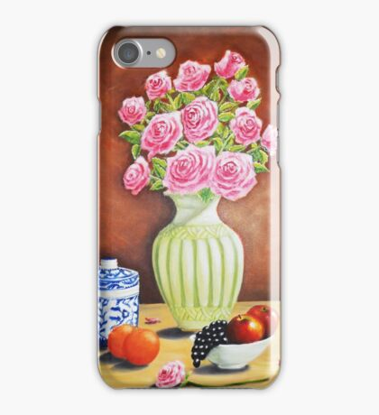 Fruits and Roses iPhone Case/Skin