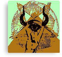 malocchio - warding off the beast Canvas Print