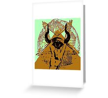 malocchio - warding off the beast Greeting Card