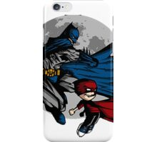 Batman and Calvin Hobbes iPhone Case/Skin