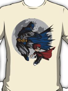 Batman and Calvin Hobbes T-Shirt