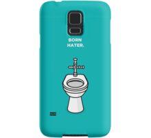 Born Hater - Toilet Samsung Galaxy Case/Skin