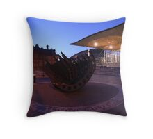The Senedd, Cardiff Bay Throw Pillow