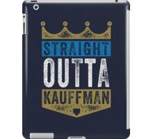Straight Outta Kauffman (color) iPad Case/Skin