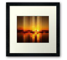 Nature Pixels No 19  Framed Print